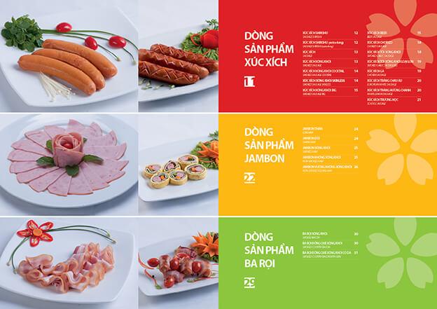 mẫu catalogue thực phẩm 2
