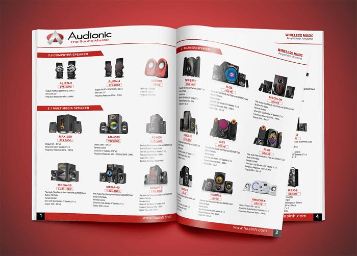 mẫu catalogue  giới thiệu sản phẩm 1