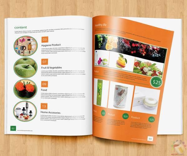 mẫu catalogue  giới thiệu sản phẩm 2