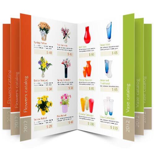 mẫu catalogue  giới thiệu sản phẩm 3